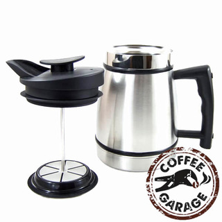 Planetary Design French Press Kaffeebereiter isoliert 4 bis 5 Tassen 20oz 0,59l Edelstahl